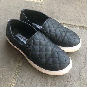 3fd3dfaaafc Steve Madden Shoes - Steve Madden Endell slip ons  Black  7